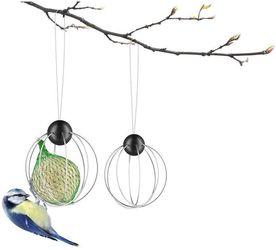Vogelvoederhuis - Birds - Zilver - Eva Solo